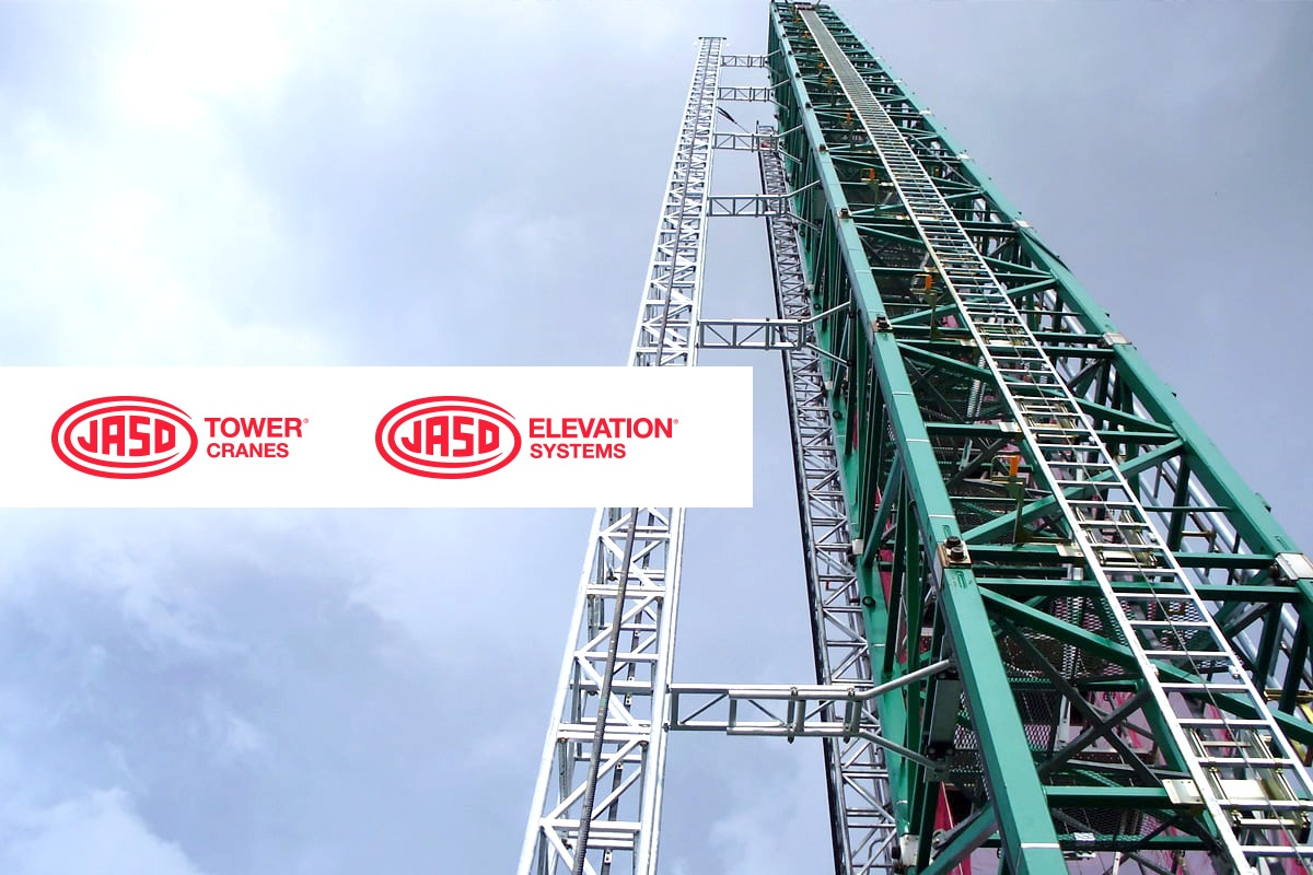 JASO Tower Cranes and JASO Elevation Systems
